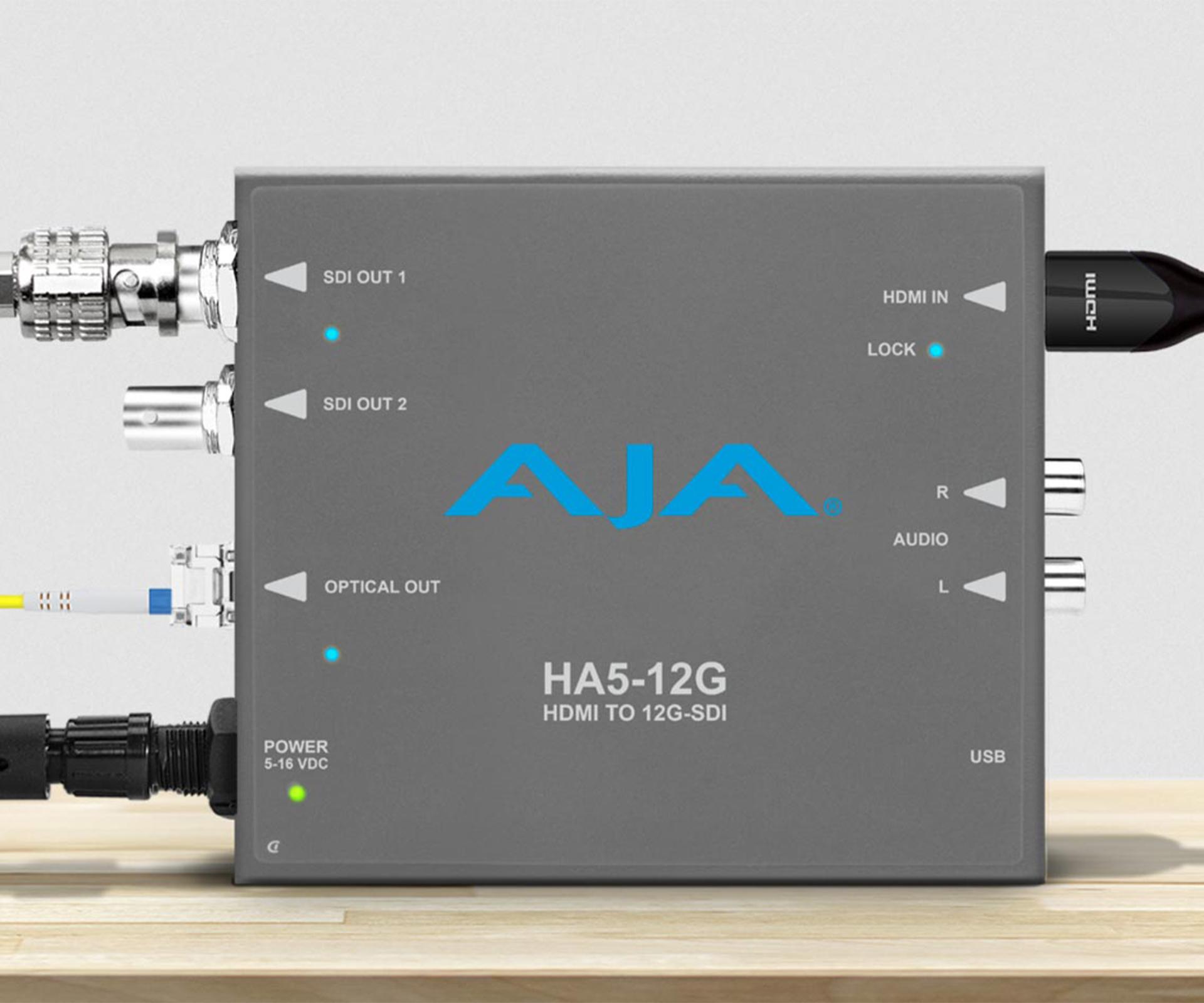 AJA HA5-12G converter