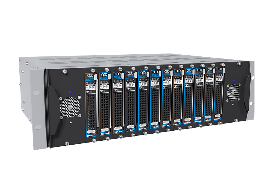 Image of the DXiP rack chassis