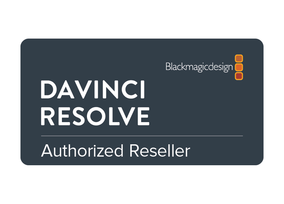 We're a Resolve Advanced Reseller