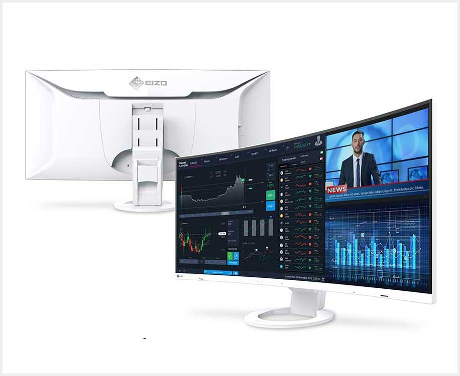 The EIZO FlexScan monitor