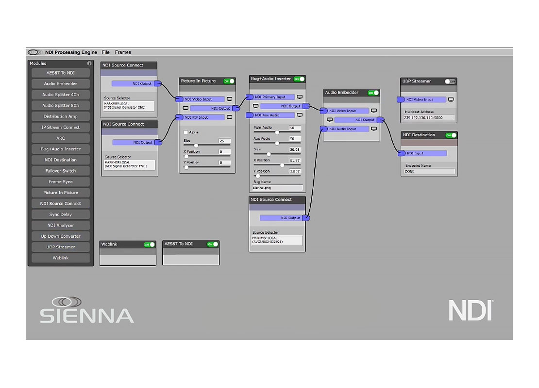 NDI processing tools