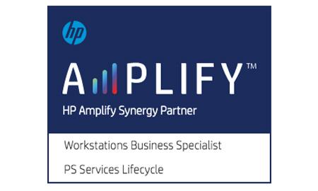 HP Amplify Synergy Partner badge