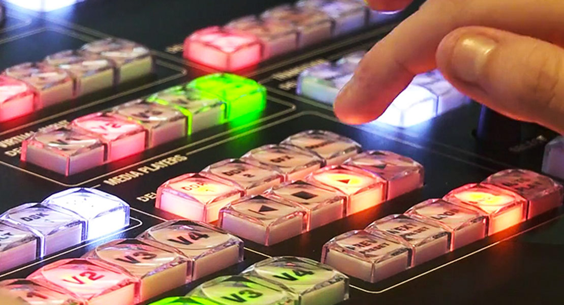 TriCaster buttons