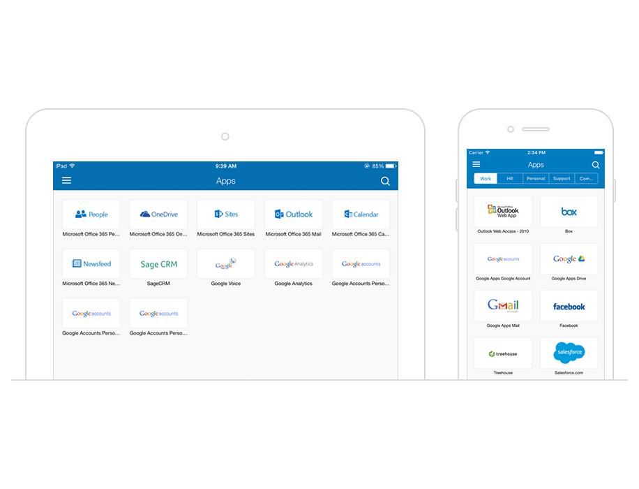 Okta customer Identity screenshot